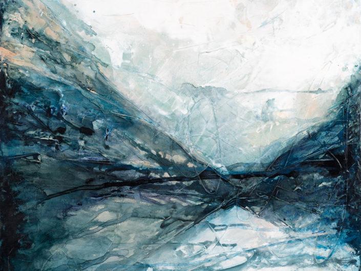 """Awaken, Acrylic on Canvas - 30"""" x 30"""""""