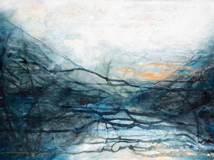 """Awaken II, Acrylic on Canvas - 30"""" x 40"""""""
