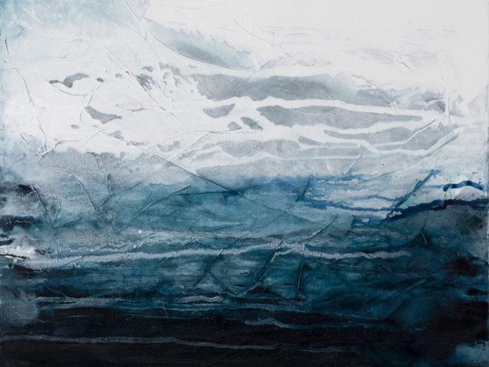 "Expanse, Acrylic on Canvas - 30"" x 40"""