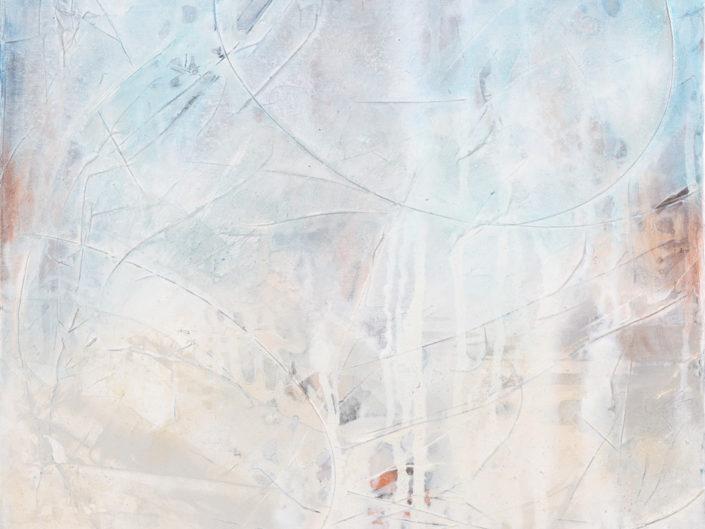 """Silence, Acrylic on Canvas - 24"""" x 24"""""""